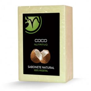 Sabonete 100% Vegetal de Coco - Nutritivo