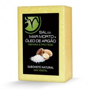 Sabonete 100% vegetal de Sal do Mar Morto e Óleo de Argão - Repara e Protege