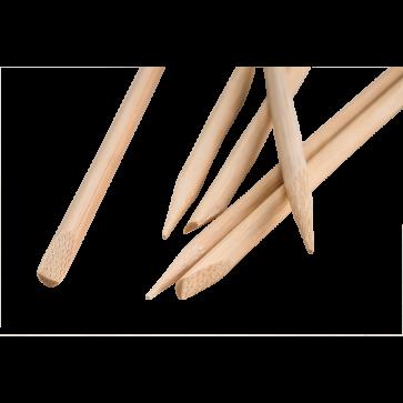 Palitos de Bambu Ponta/Chanfro