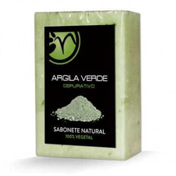 Sabonete 100% Vegetal de Argila Verde - Depurativo