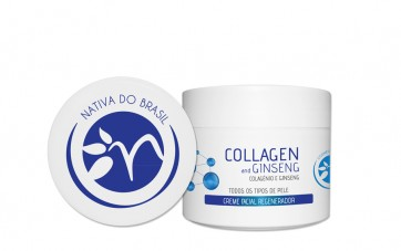 Collagen and Ginseng - Creme Facial Regenerador 125ml