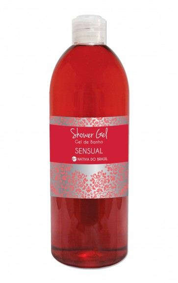Shower Gel Sensual 750 ml