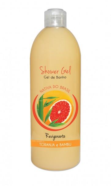 Shower Gel Revigorante com aroma a Toranja e Bambu 750ml