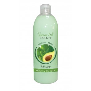 Shower Gel Refrescante com aroma a Abacate e Chá Verde 750ml