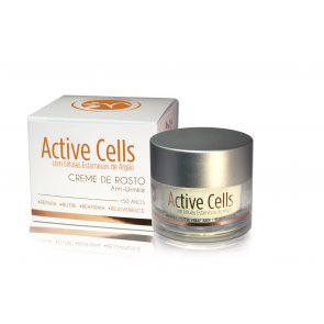 Creme Active Cells com Células Estaminais de Argão