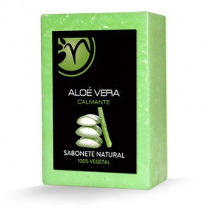 Sabonete 100% Vegetal de Aloé Vera - Calmante