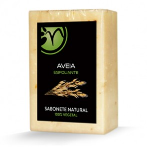 Sabonete 100% Vegetal de Aveia - Esfoliante