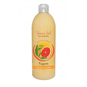 Shower Gel Revigorante com aroma a Toranja e Bambu 750ml
