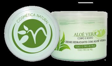 Crema Hidratante Cuerpo y Cara con Aloé Vera 300ml