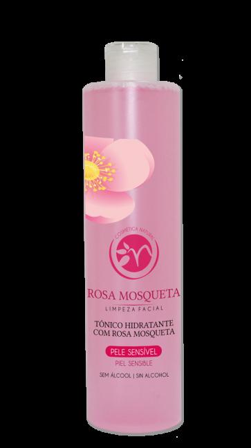Tónico Hidratante Con Rosa Mosqueta - Piel Sensible 500ml