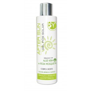 Gel After Sun con Aloe Vera y Rosa Mosqueta 200ml