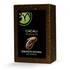 Jabón 100% Vegetal de Cacao - Tonificante