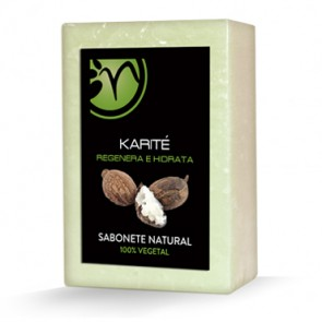 Jabón 100% Vegetal de Karité - Regenera e Hidrata