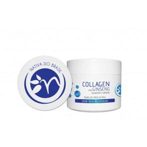 Collagen and Ginseng - Crema Facial Regeneradora 125ml